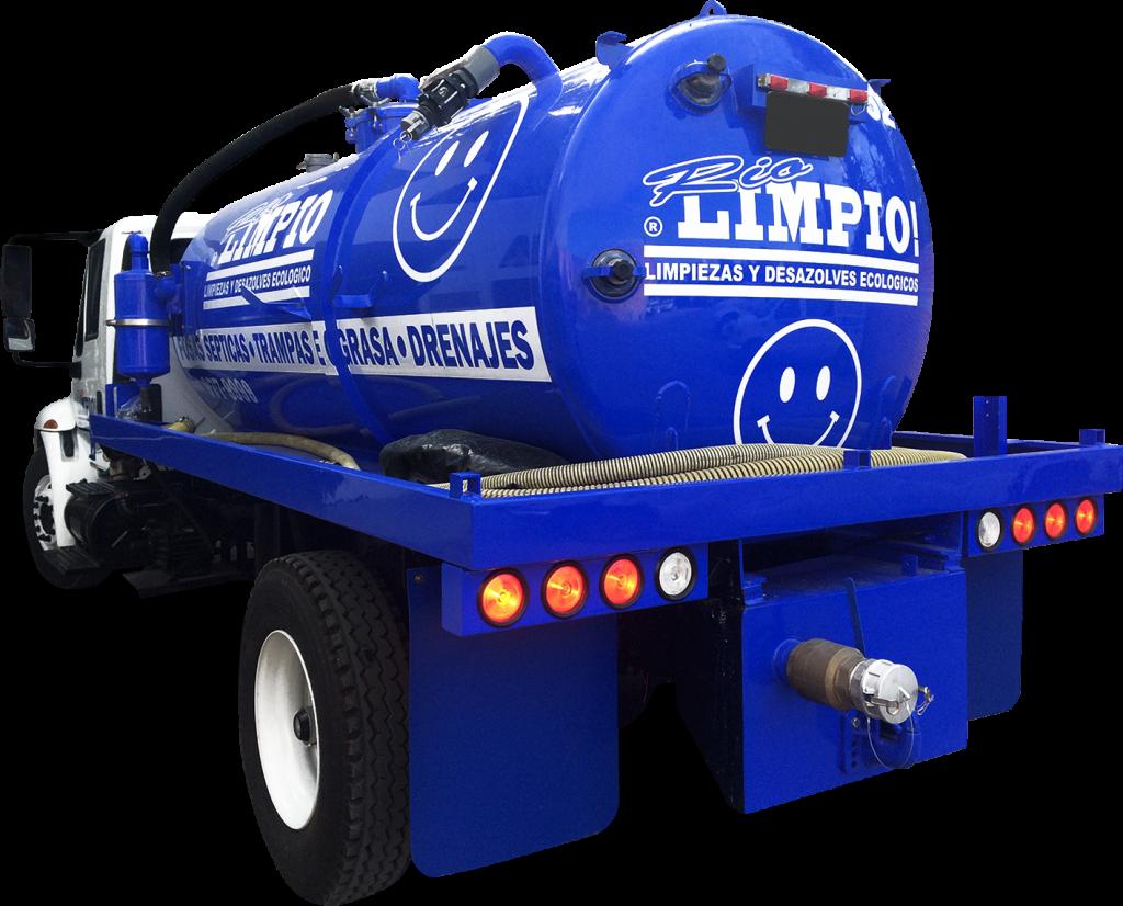 camión para limpieza y desazolves ecológicos
